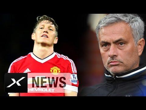Bastian Schweinsteiger trotzt bei Manchester United Jose Mourinho   Bundesliga   Transfer-News
