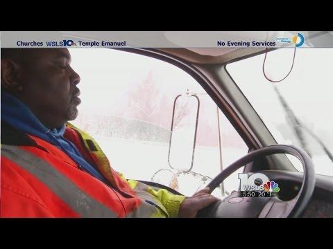 Danville public works department plows around the clock