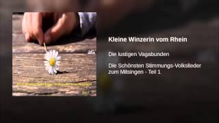 Kleine Winzerin vom Rhein