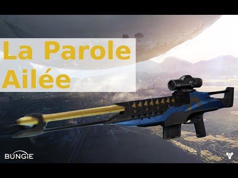 Destiny FR : Test de la Parole ailée ! Le très bon snipe d'Osiris !