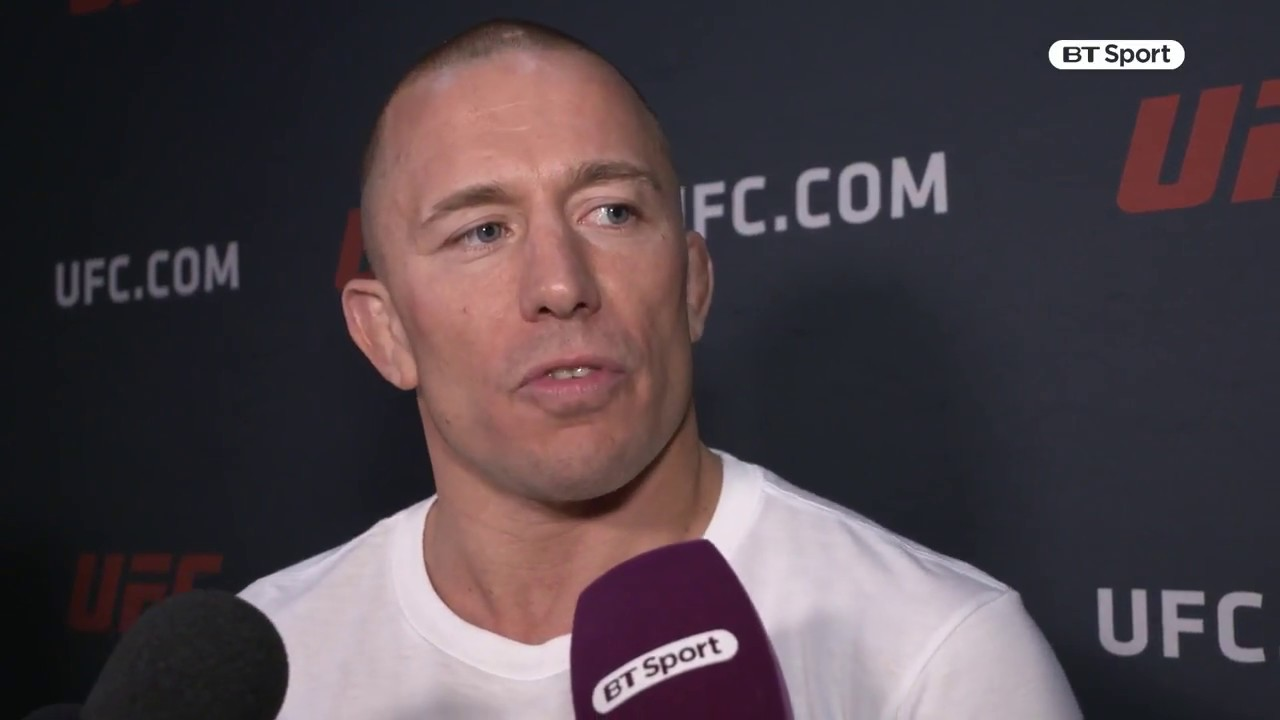 Georges St Pierre Rush MMA Fighter Page