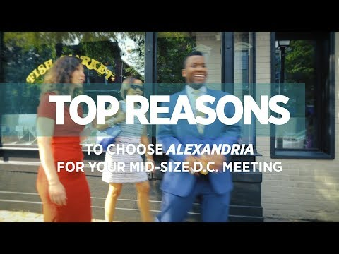 Top Reasons to Choose Alexandria for Your Mid-Size D.C. Meeting