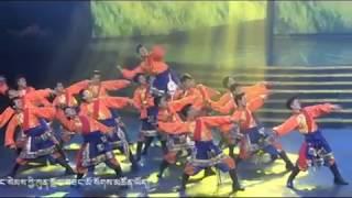 藏族男子群舞 甘孜踢踏 踏鈴
