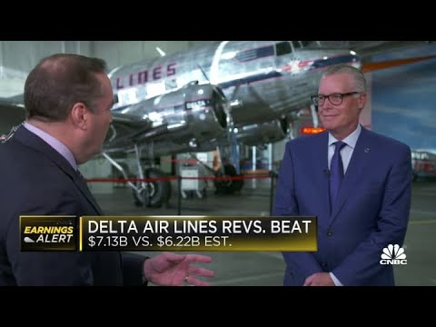Delta Air Lines CEO on earnings: Consumer travel is beyond 2019 levels