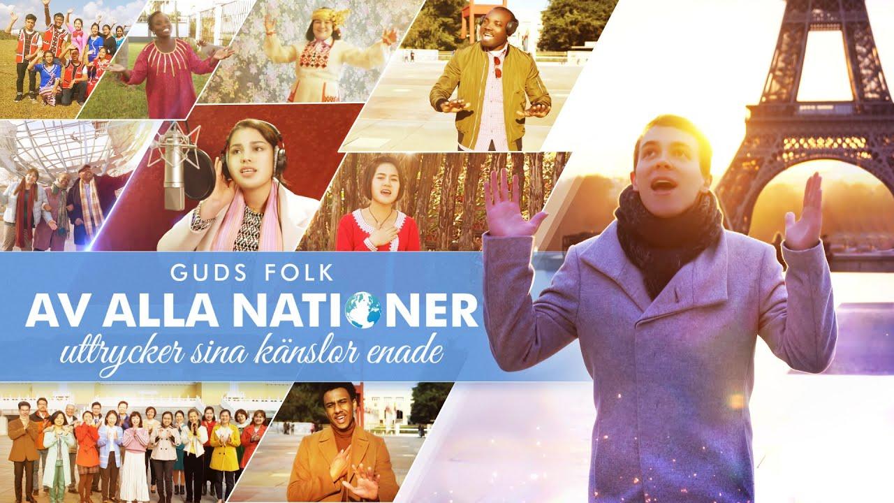 """Lovsång - Tacka Guds kärlek """"Guds folk av alla nationer uttrycker sina känslor enade"""""""