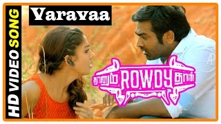 Cover images Naanum Rowdy Dhaan Movie | Songs | Varavaa Song | Parthiban escape from Mansoor and Vijay Sethupathi