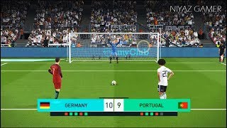 GERMANY vs PORTUGAL | Penalty Shootout | PES 2018 Gameplay PC
