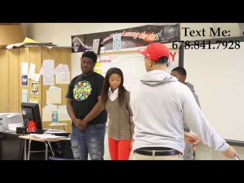 Mr. StartsWithAVision talks about Real Estate at Benjamin E. Mays High School