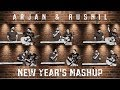 NEW YEAR MASHUP | O O JAANE JAANA X MERE RASHKE QAMAR X MERE MEHEBOOB | ARJAN & RUSHIL
