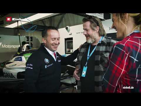 Roger Griffiths im Garagen Interview mit den MöglichMachern von Einhell