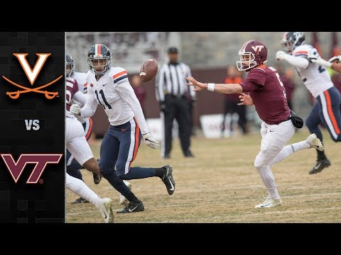 Virginia vs. Virginia Tech Football Highlights (2018)
