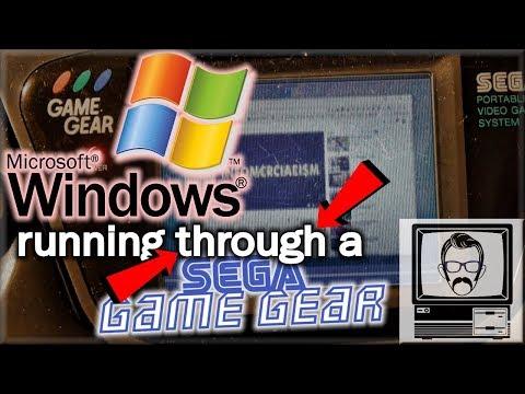 Windows Through a Sega Game Gear | Nostalgia Nerd