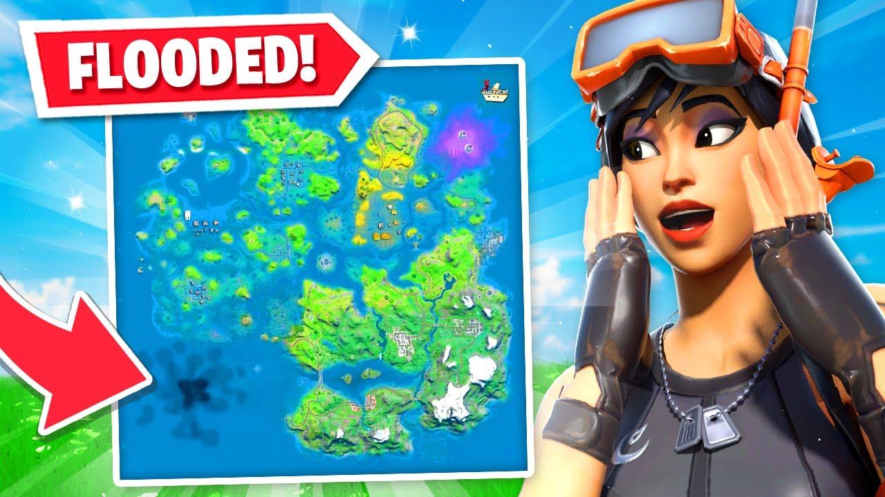 *NEW* Fortnite FLOODED Map LEAKED! (Chapter 2 Season 3 ...