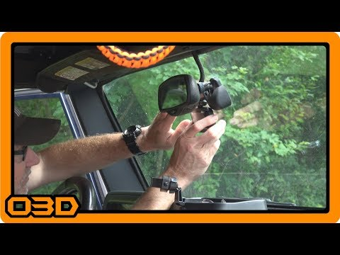 Wheel Witness HD Pro Dash Camera Install  - Project 2004 Jeep TJ Wrangler