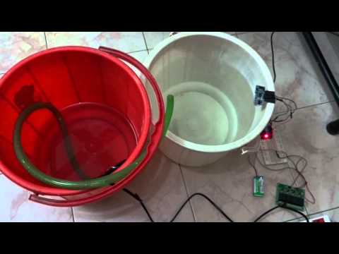 Arduino Water level controller using Ultrasonic sensor HCSR 04