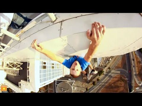 Crazy Russians Tower Climbing Compilation [HD] | Fun Del Mundo