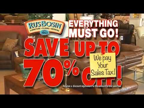 Rusbosin Furniture Final Days For Greensburg Store Closing   Duration: 31  Seconds.