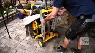 Dewalt De7400 Heavy Duty Rolling Saw Workstation - A Toolstop Demo