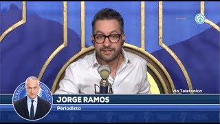 ENTREVISTA A JORGE RAMOS: ¿QUÉ PASO CON AMLO?- EL PULSO DE LA REPÚBLICA