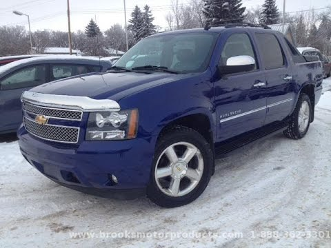 2010 chevrolet avalanche 4wd crew cab ltz for sale in brooks alberta youtube. Black Bedroom Furniture Sets. Home Design Ideas