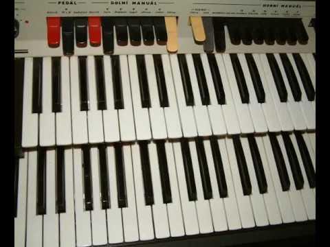 Delicia vega vintage electronic organ sound demo youtube for Classic house organ sound