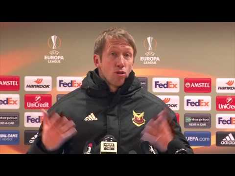 Graham potter: 'i hope arsenal win europa league'