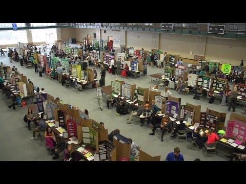 University of North Dakota plays host to N.D. state Science & Engineering Fair (2015)