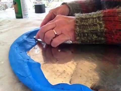 How to paint metal tray with chalkboard paint