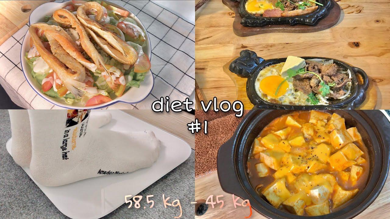 (Eng) Diet #1 [58.5kg-45kg] 🧀  Thực Đơn KETO Trong 1 Tuần Của Mình | Ăn Ngon Để Giảm Cân | vlog