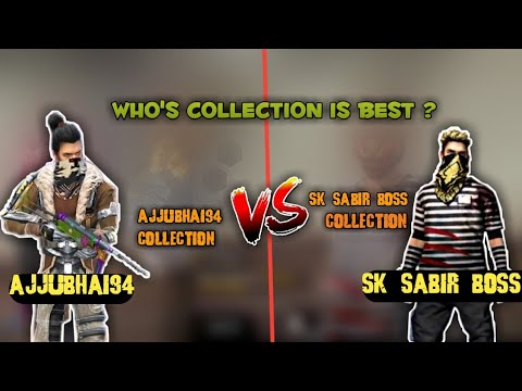 Sk Sabir Boss  Collection Vs Total Gaming Ajju Bhai 94 Collection || #totalgaming #sksabirboss