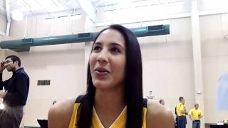 Miranda Ayim - 2011 Tulsa Shock Media Day