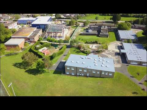 Carisbrooke High School/College & Gunville Pond By Drone - May 2018