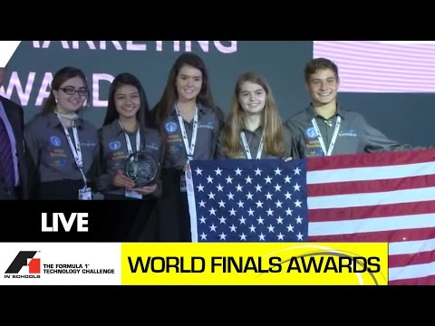F1 in Schools World Finals 2014 Awards Celebration