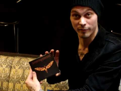 Ville Valo's Shout Out to Spin Earth from Helsinki! 2009
