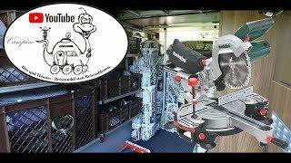 Wohnmobil- Tuning: Garagen- Regalbau