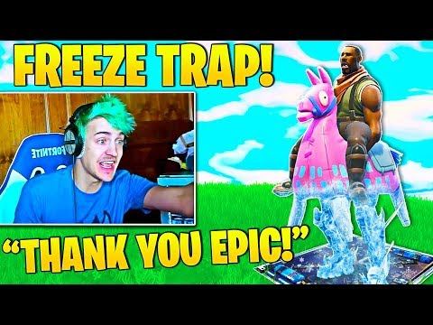 *NEW* Ninja Freeze Trap Idea GAMEPLAY! (Epic Games Listens) Tfue SMART Spawn Trick!