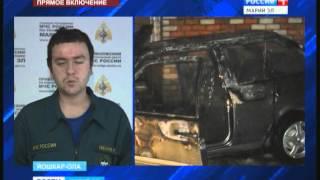 Два случая поджога входных дверей квартир зафиксировано в Йошкар-Оле - Вести Марий Эл(, 2015-11-28T11:15:05.000Z)
