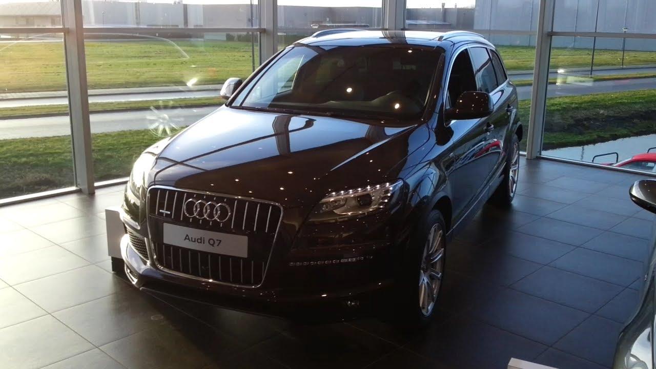 Audi Q7 S Line 2015 In Depth Review Interior Exterior - YouTube