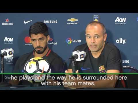I hope Neymar will stay in FC Barcelona, says Andres Iniesta