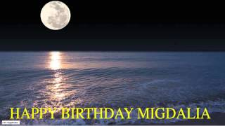 Migdalia  Moon La Luna - Happy Birthday