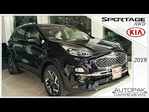 KIA Sportage AWD 2019. Detailed Review: Price, Specifications & Features.