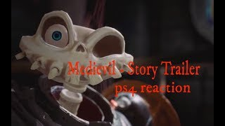 Medievil - Story Trailer ps4 reaction