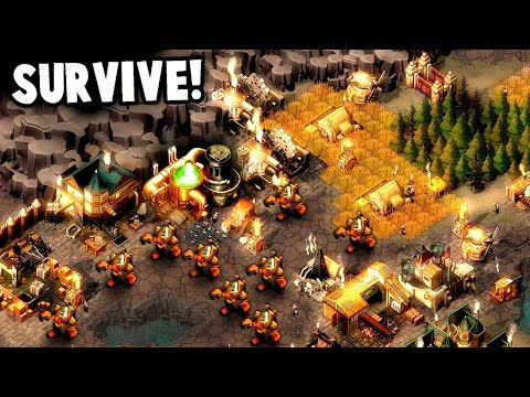 This KINGDOM Must SURVIVE!  Zombie Apocalypse vs TOAST Kingdom (They Are Billions Gameplay)