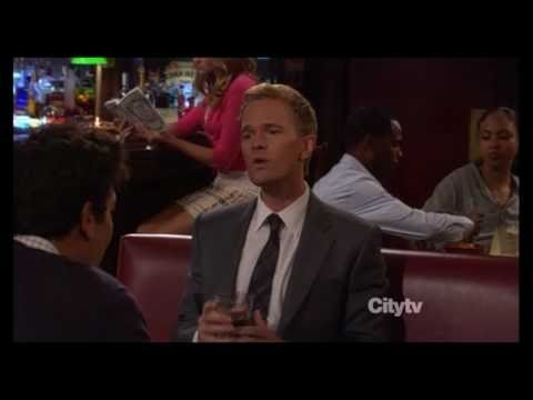 Barney Stinson looks cool for a pretty girl season6, episode1