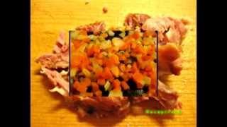 Видео рецепты - гороховый суп с копченостями