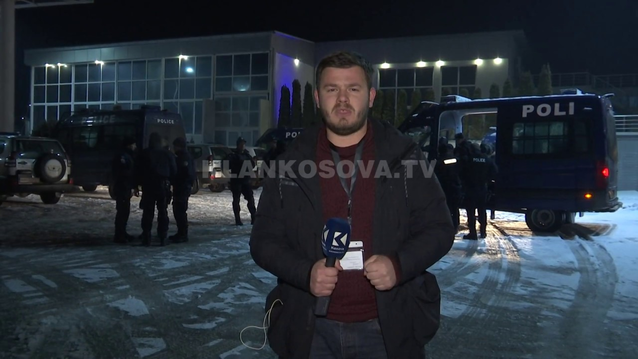 Përmbledhje e planit të Policisë së Kosovës për ta ndalur trenin serb - 15.01.2017 - Klan Kosova