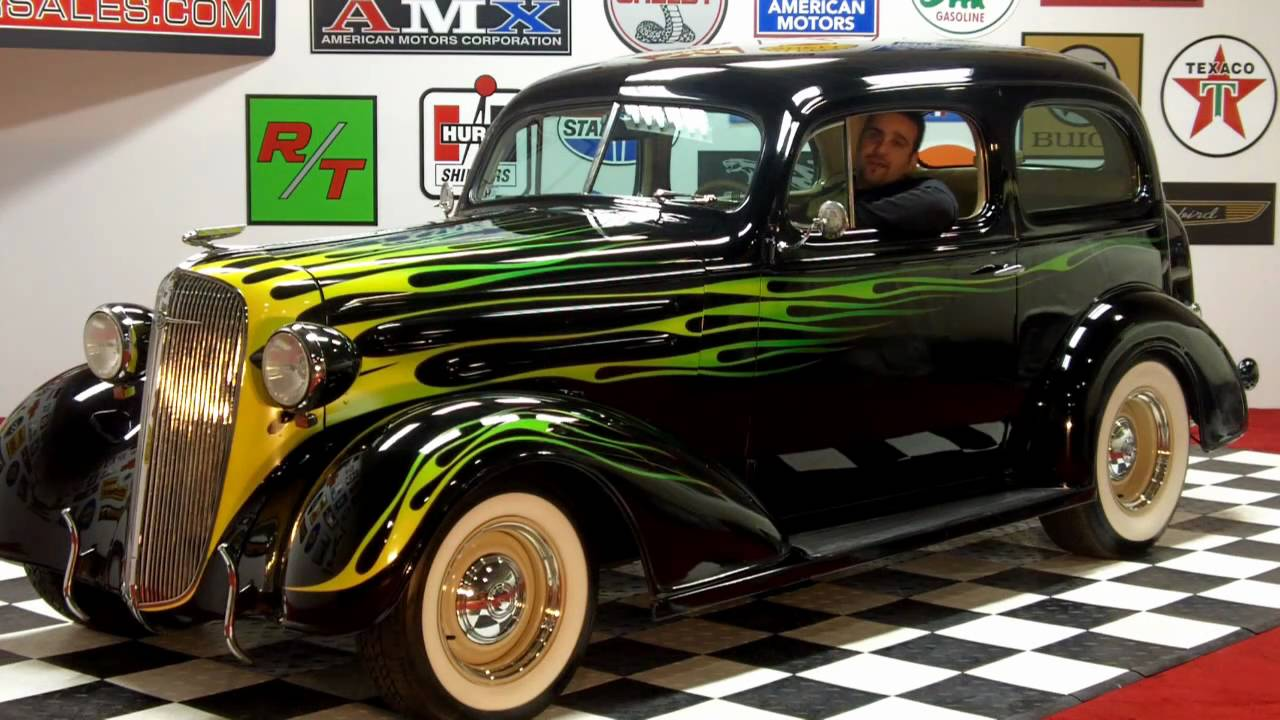 1936 Chevy Street Rod By Hot Rodder Magazine Classic