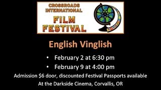 Crossroads International Film Festival 2014 Selections - Corvallis, Oregon