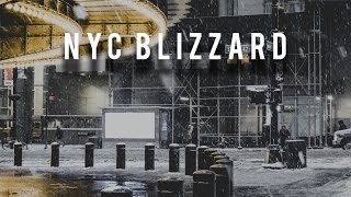 PHOTOGRAPHING A BLIZZARD IN NYC AT 5AM!!
