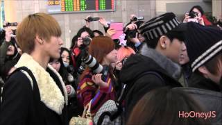 130126 EXO M at Gimpo Airport